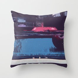 Game of Billiards Throw Pillow