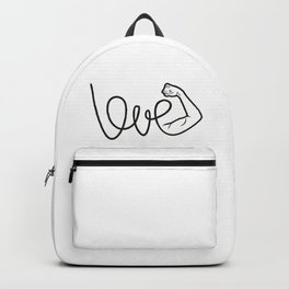 Love Is The Power Backpack