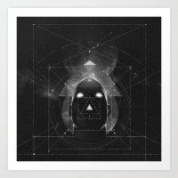 """""""Φ.Χ.Ψ.Ω"""" Art Print"""