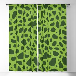 Cell Pattern Blackout Curtain