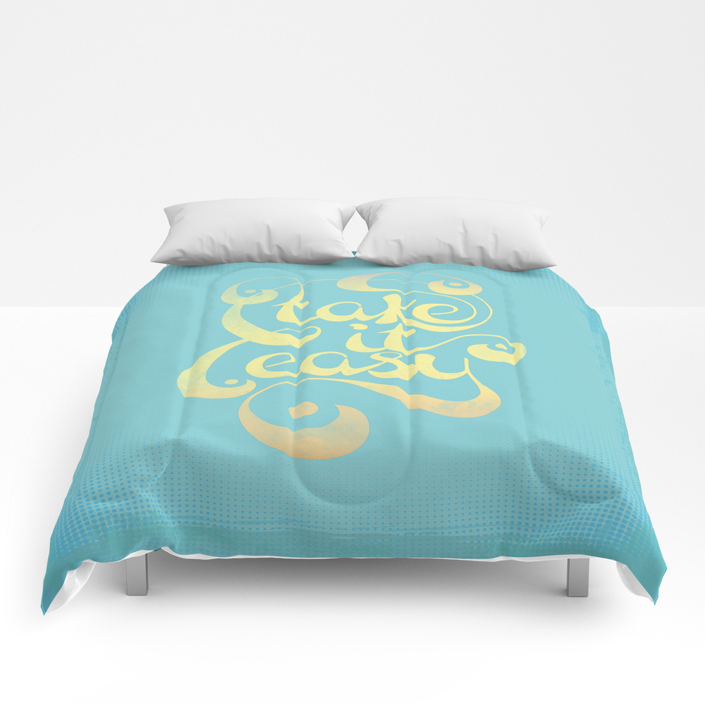 Take It Easy Comforter by Rebeccaperry CMF8031547