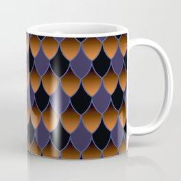 Squama Fhish Dark Pattern Coffee Mug