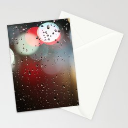rain lights Stationery Cards