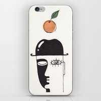 clockwork orange iPhone & iPod Skins featuring clockwork orange by NikaQ