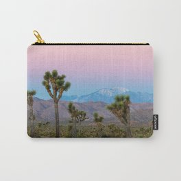 Sunrise Joshua Tree National Park Desert Vibes (Blue and pink) Carry-All Pouch