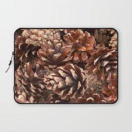 Woodland Pinecones Laptop Sleeve