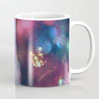 the lights Mugs featuring Lights by Jeremy Jon Myers