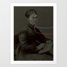 Extensions Art Print