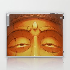 Buddha II Gold Laptop & iPad Skin