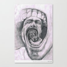 Mouthh Canvas Print