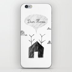 Deer Home iPhone & iPod Skin