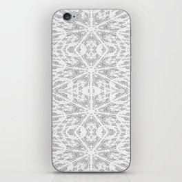 Pattern Grey / Gray iPhone Skin