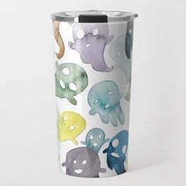 Happy Ghosts Travel Mug