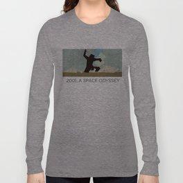 Minimalist 2001: A space odyssey (2) Long Sleeve T-shirt
