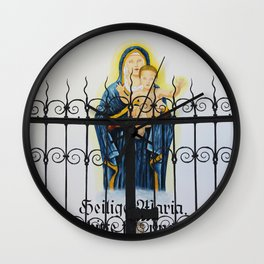 Mary and Child Wall Clock
