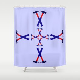 Hammers Design version 3 Shower Curtain