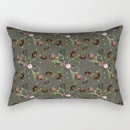 Artichokes and onions by Vitória Rectangular Pillow