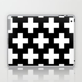 black-and-white pattern Yakshi Laptop & iPad Skin