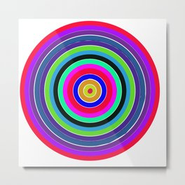 Target: By Darren Mann Metal Print