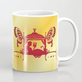 Bridal Palanquin India.doli silhouette Coffee Mug