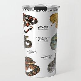Venomous Snakes of South America Travel Mug