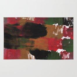 Multicolor watercolor Rug