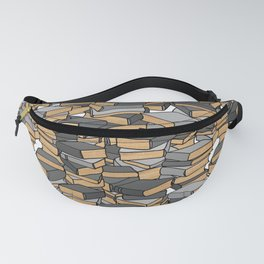 Book Collection in Grey Fanny Pack