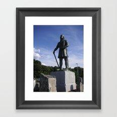 Leif Erickson Framed Art Print
