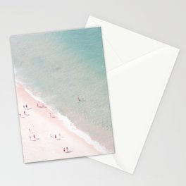 beach - summer of love Stationery Cards
