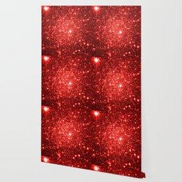 GalaXy : Red Glitter Sparkle Wallpaper