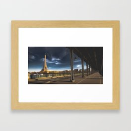 We'll always have Paris... Framed Art Print