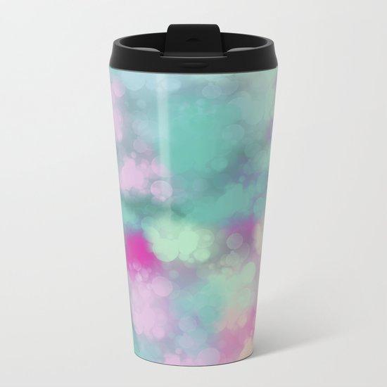 Abstract 3 Metal Travel Mug