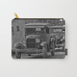 Rusty Pickup Shiny Car Carry-All Pouch