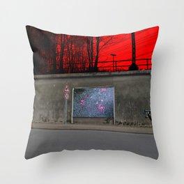 Empty (scene1) Throw Pillow
