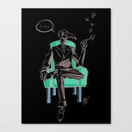 Birdman (Ciao) Canvas Print