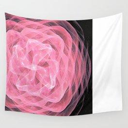 Ribbon Rose Wall Tapestry
