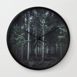 darkwood Wall Clock