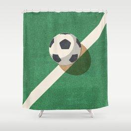 BALLS / Football Shower Curtain