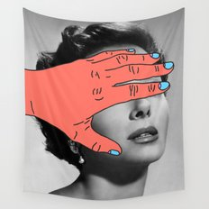 Burning Hands Wall Tapestry