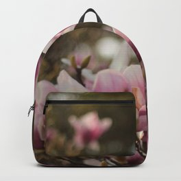 Pretty and sweet pink flowers Backpack