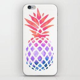 Summer Pineapple iPhone Skin