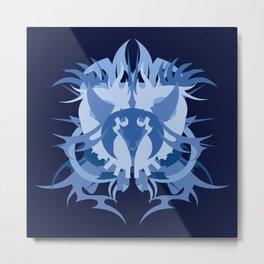 Abstraction Fifteen Mazu Metal Print