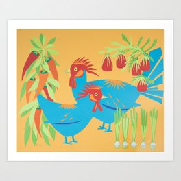 Gumbo Art Print