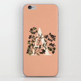 Letter A for Amelanchier iPhone Skin
