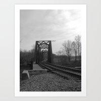 Do You Hear the Train Art Print