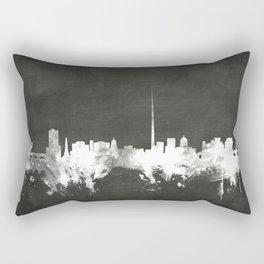 Dublin Ireland Skyline Rectangular Pillow