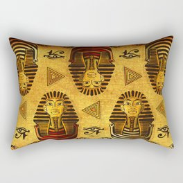 Pharaonic Rectangular Pillow