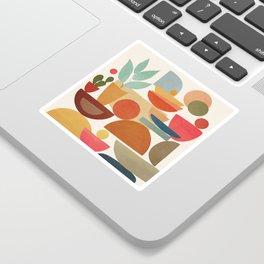 Modern Abstract Art 78 Sticker