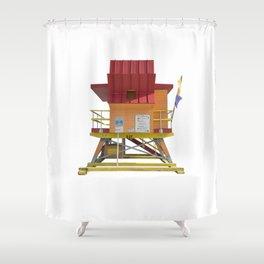 Lifesaver 004 Shower Curtain