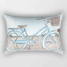 Beach Cruiser Rectangular Pillow